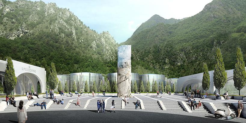 Проект новой фабрики San Pellegrino в Италии