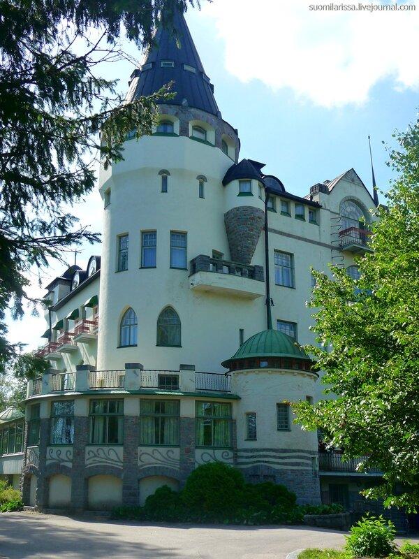 """Здание отеля в стиле """"югенд"""", 1903 г."""