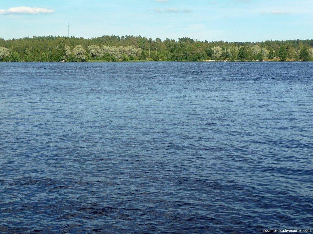 Река Вуокса. Иматра.