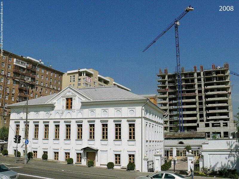 Русаковская набережная.  2008 год.