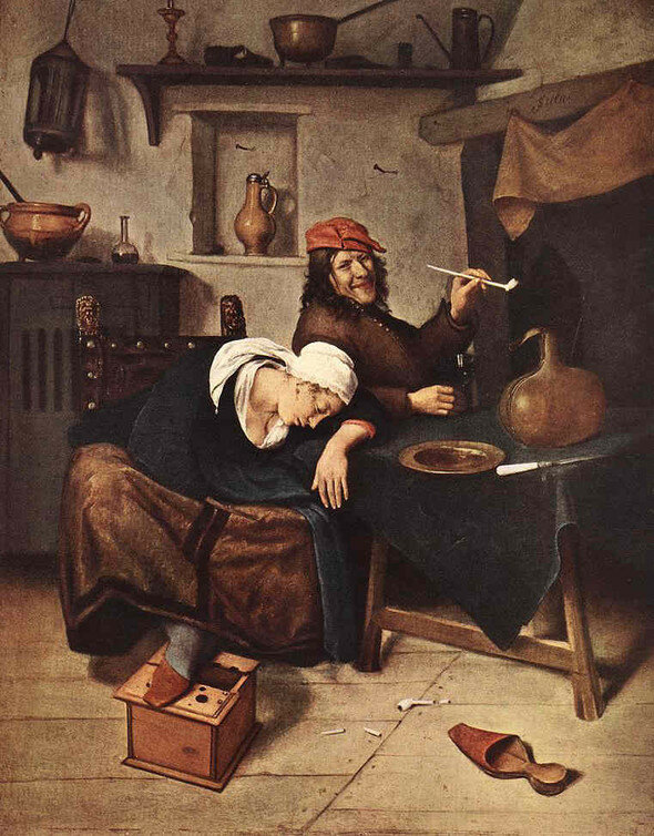"Ян Стен ""Гуляки"", 1660 г."