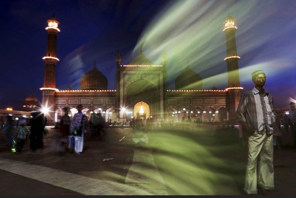 Фоторепортаж: Индия открывает Рамадан