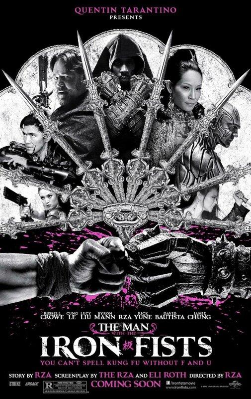 Человек с железными кулаками / The Man with the Iron Fists (2013) HD 720p