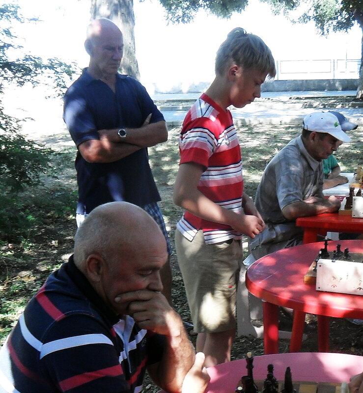 Шахматные соревнования в честь Дня ВМФ, 2012-07-29, Приморско-Ахтарск, День города Приморско-Ахтарска,