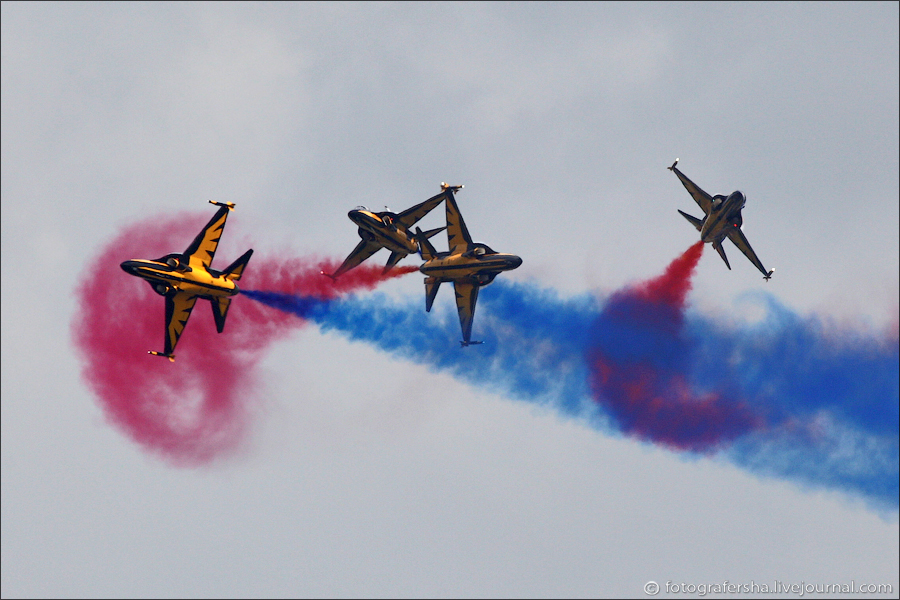 Black Eagles на AIR TATTOO-2012