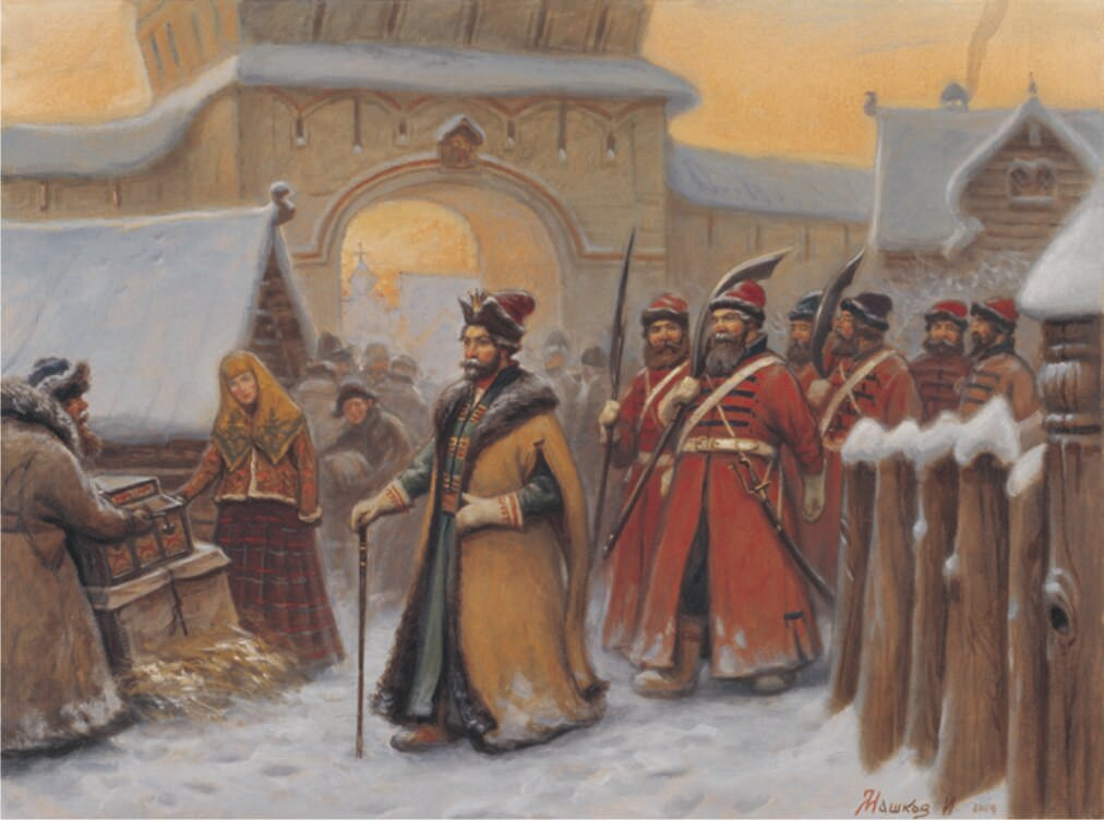 В 1583 20141584 годах по указу царя ивана грозного двинские воеводы п а нащокин