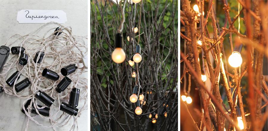 конкуренция ретро гирлянда с лампами накаливания своими руками залить полулитром