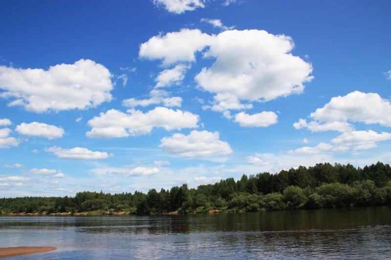 путь к цели, река Ветлуга