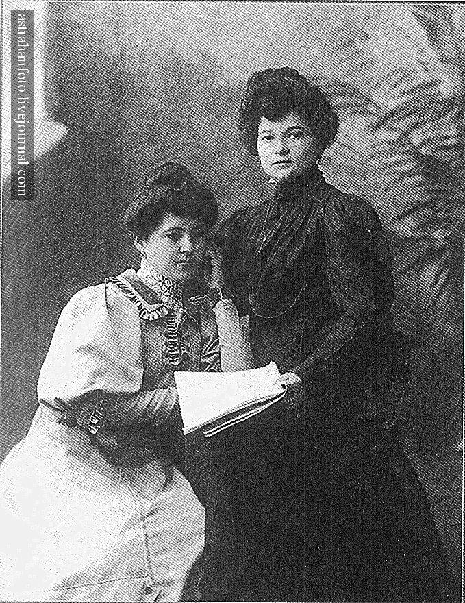 А.М. Беме. Рая и Маруся. 11.9.1906