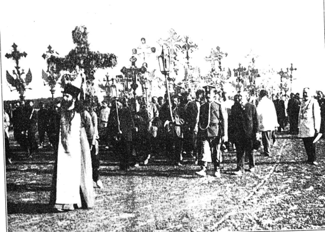 Black Hundred procession.