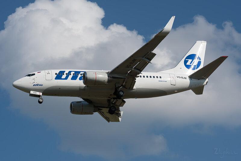 Boeing 737-524 (VQ-BJM) ЮТэйр DSC_2729