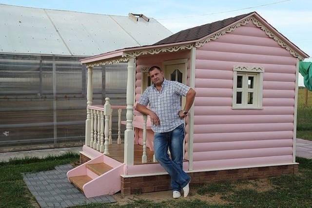 Домик для девочки своими руками на даче
