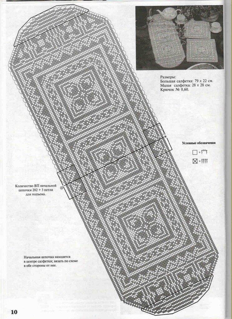 Мир схем для вязания 559