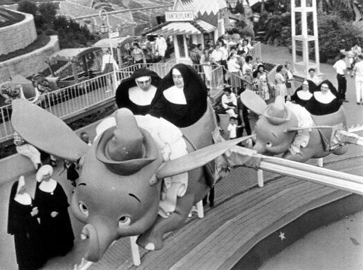 Nuns on Dumbo Ride