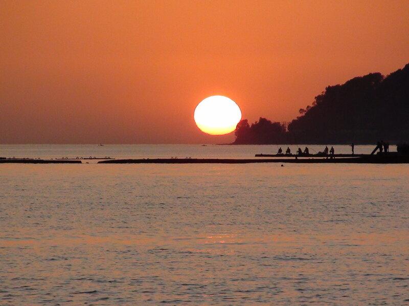 Закат в Мамайке