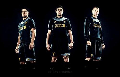Ливерпуль. Гостевая форма