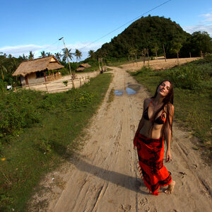 На острове Ломбок, Индонезия