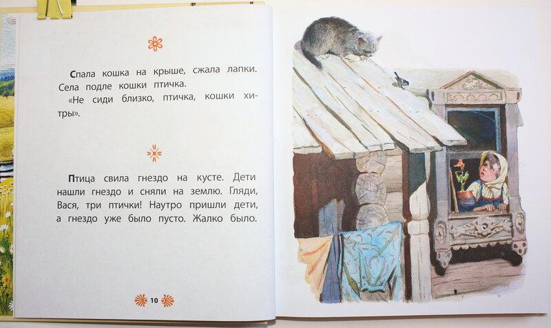 рассказ птичка толстого читать