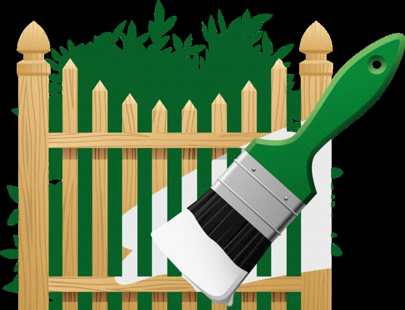 Картинки детей красящих забор