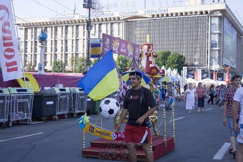Киев. Днепр, Евро