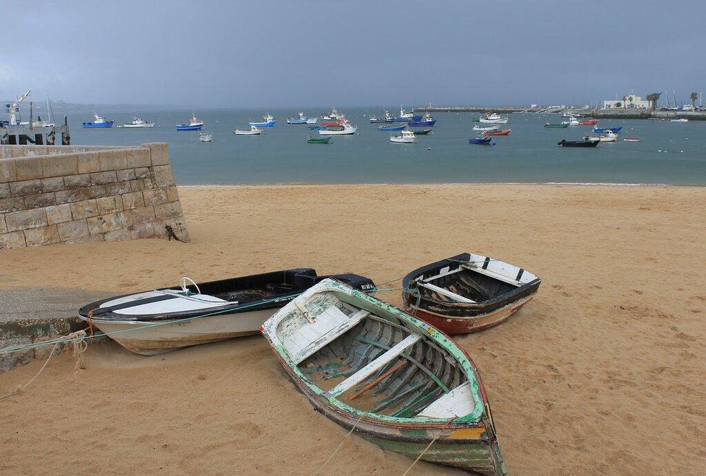 Praia dos Pescadores. Кашкайш, рыбный пляж