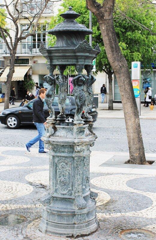 Lisbon. Square of Restorers (Praça dos Restauradores)