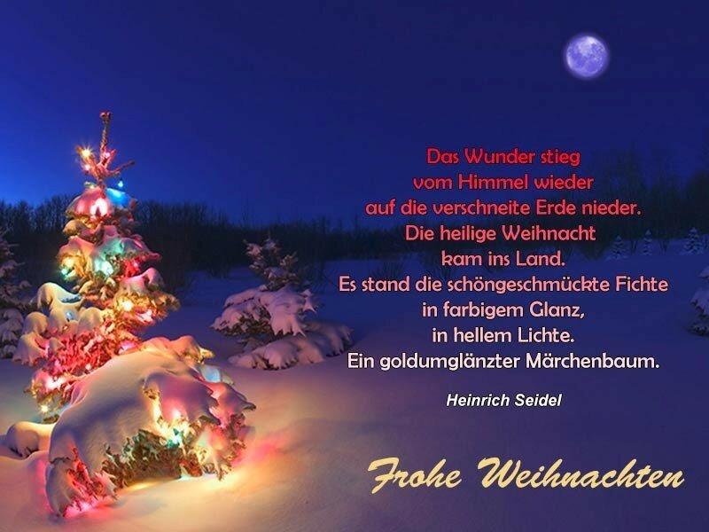 Grüße frohe Weihnachten - Live-Karten für jeden Urlaub