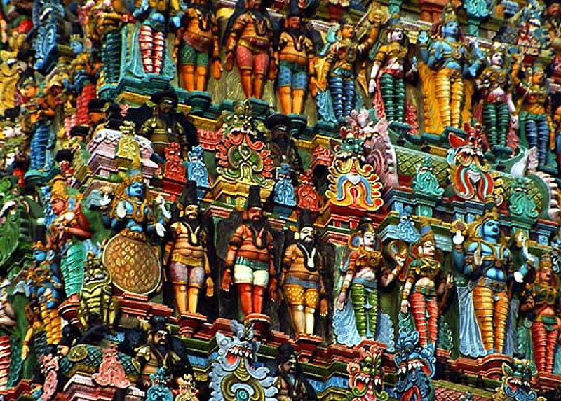 24. Храм Шри Минакши сундаресвара.