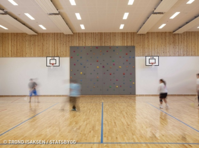 © Trond Isaksen / Statsbygg     Заключенные тюрьмы  Хальден  могут играть