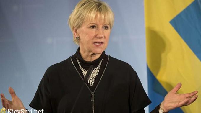 Руководитель МИД Швеции прибыла встолицу страны Украина обсудить реформы