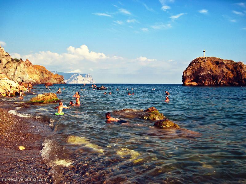 фото фиолент яшмовый пляж