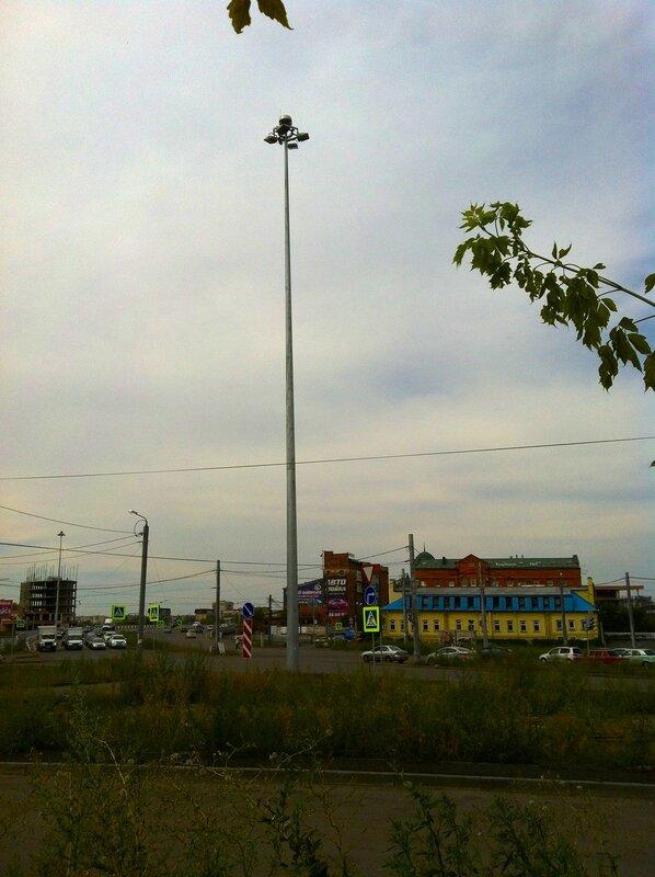 Развязка на месте площади