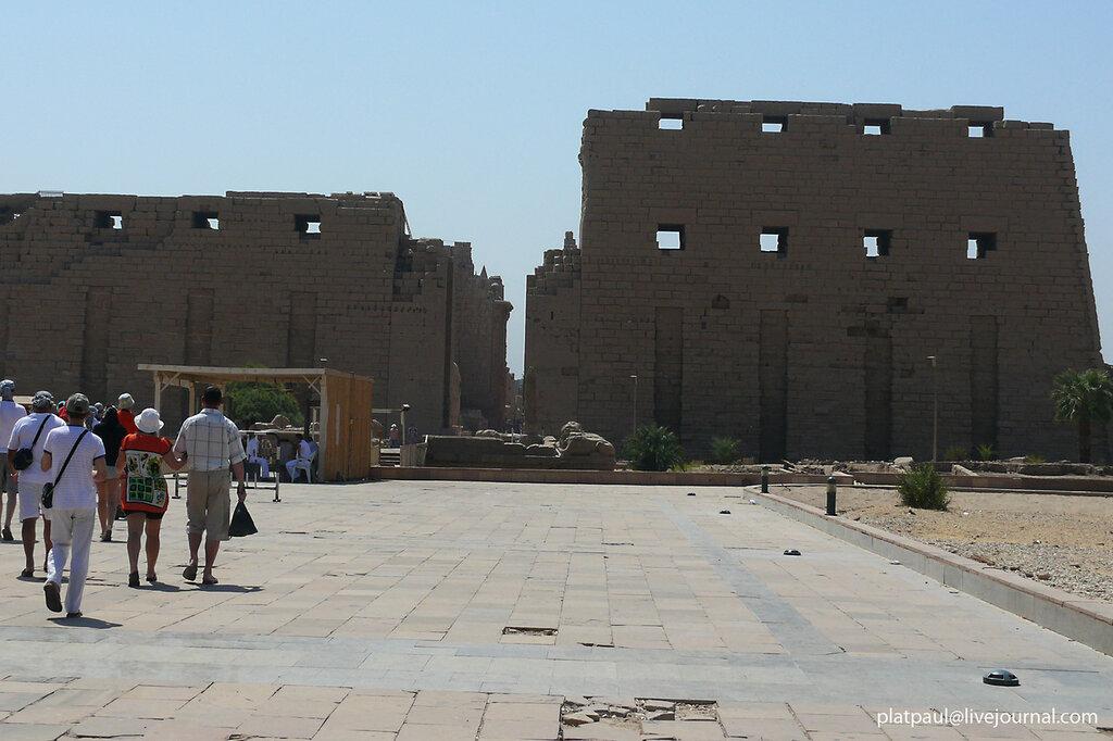 Луксор... Карнакский Храм