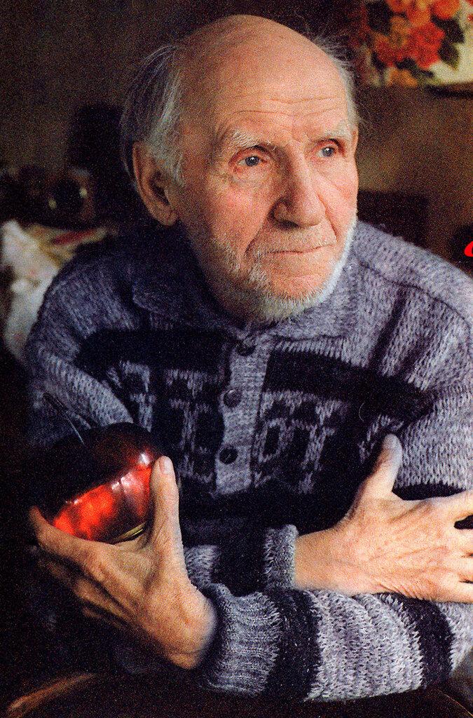 Последняя фотография Николая Ивановича. Фото Ольги Кудрявцевой.