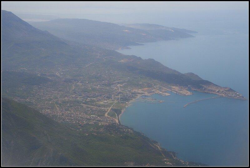 Вид на город Бар, Черногория