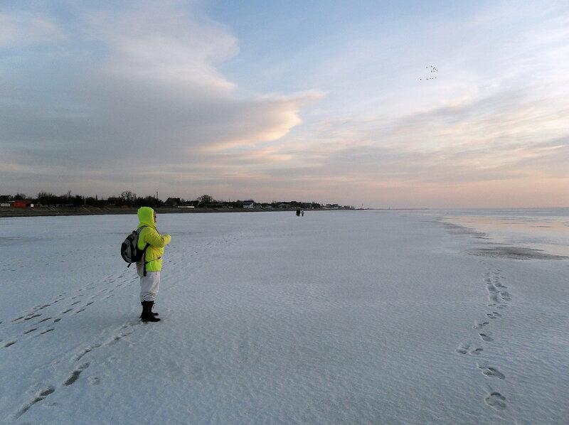 Вечер на ледяных полях