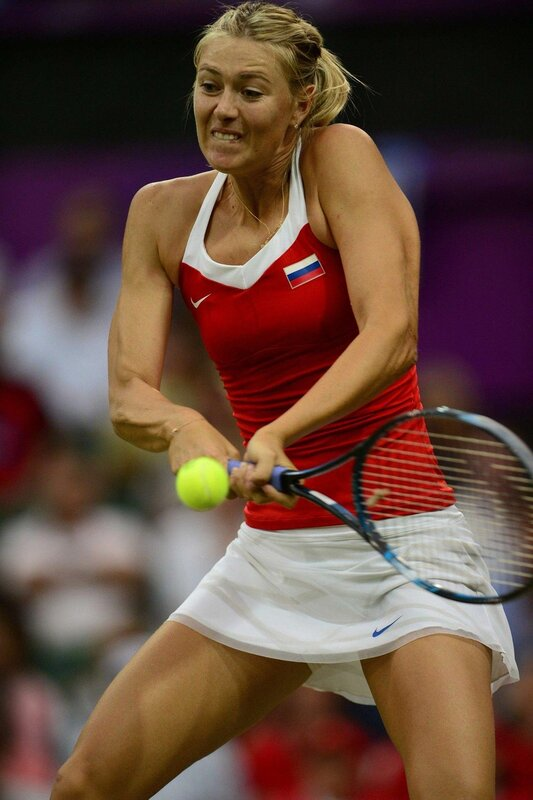 Мария Шарапова на Олимпийских играх в Лондоне