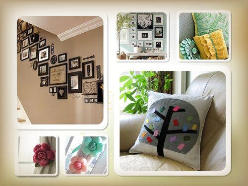 Дизайнерские штучки для интерьера дома своими руками фото - Самодельные