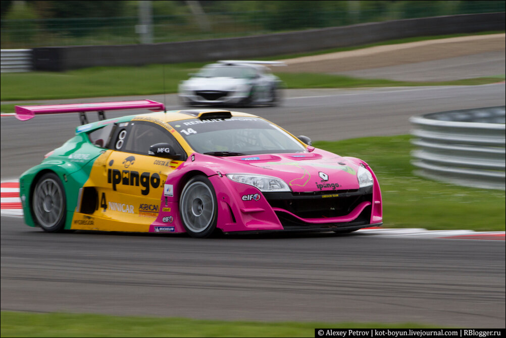 World Series by Renault на Moscow Raceway.