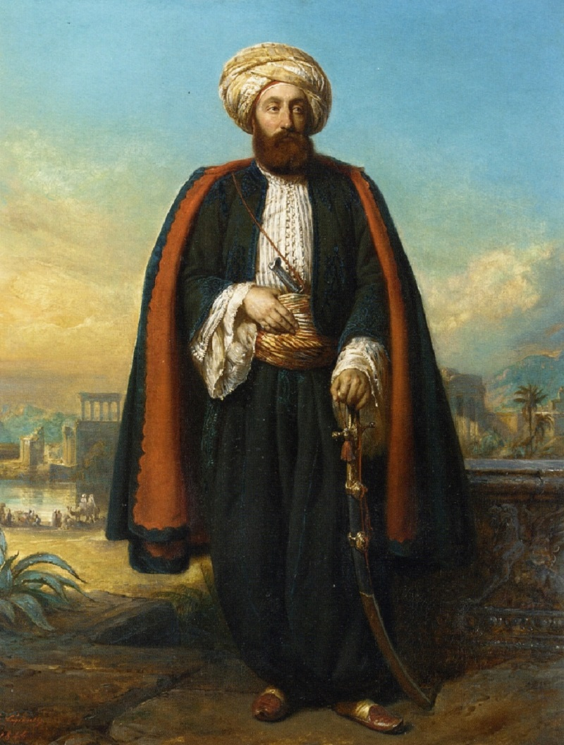 'Colonel George Fergusson Henry, Honorary Bey at the Sultan's Court'