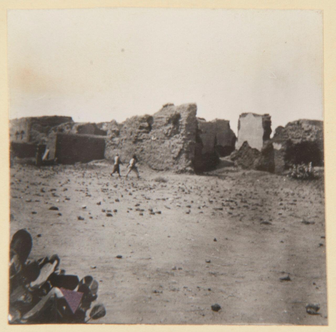 Хартум. Городские руины