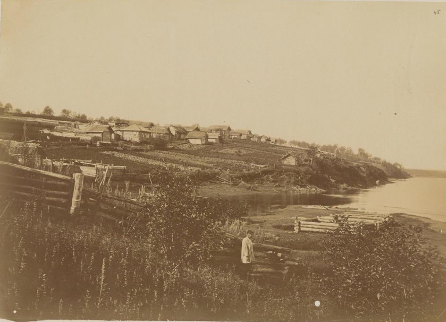 Вятское, крестьянское село на Амуре в 70 километрах ниже Хабаровки
