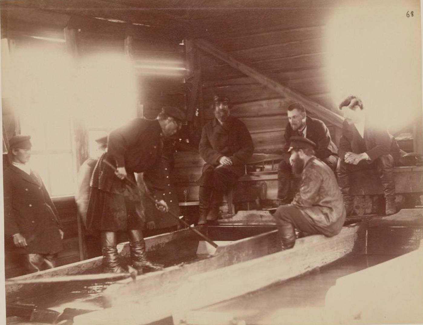 Мытье золота на Амуре