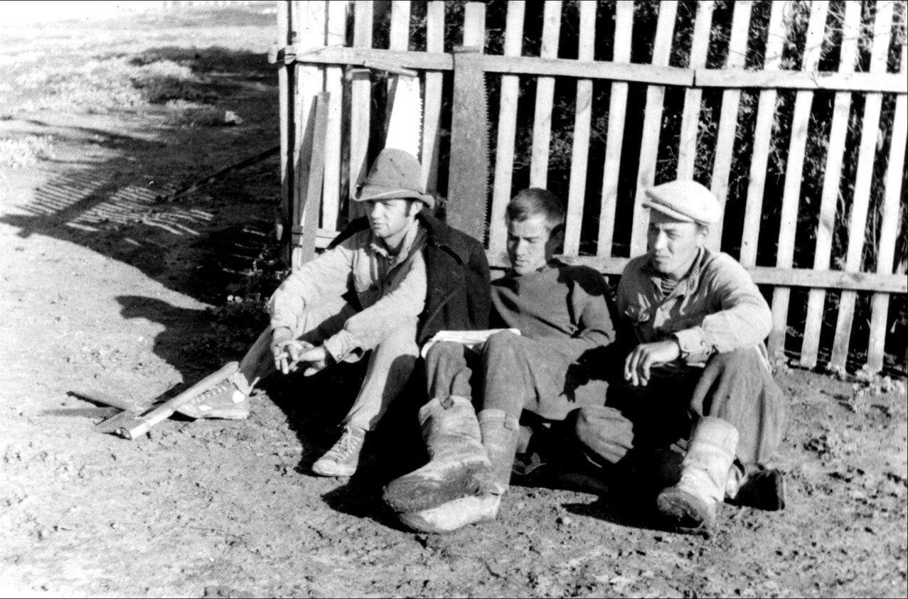 1966. Стройотряд в Северо-Казахстанской области