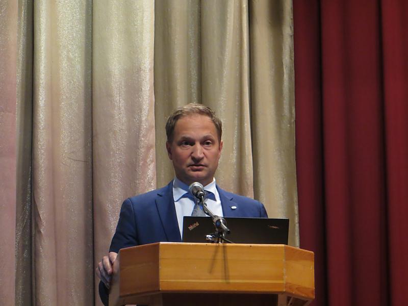Выступает генеральный директор компании «Сибирский лес» Сергей Малков