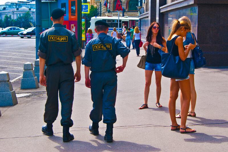 Полициейские..