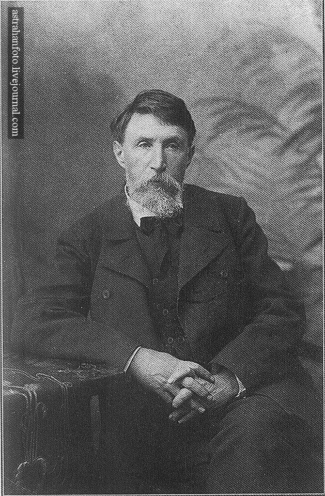 А.М. Беме. Портрет Н.И. Долгополова 1907
