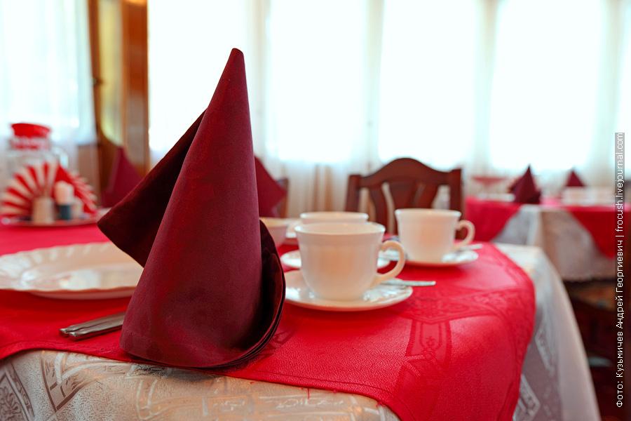 фотографии ресторана теплоход Бородино