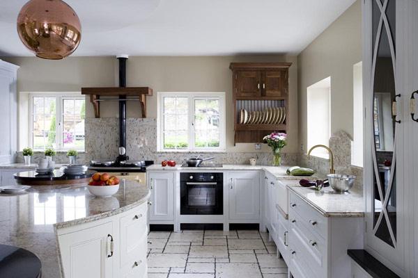 шикарные кухни фото