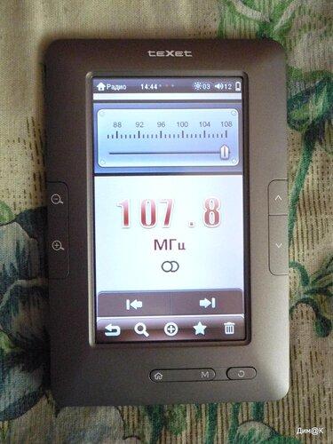Texet ТВ-434HD (радио)